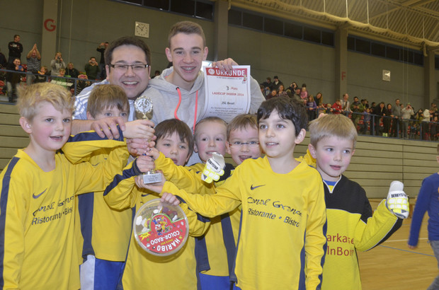 2008er Bambini beim Lauricup 2014